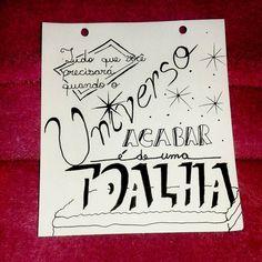 """""""Dia 23: #30diasdehandlettering  O Guia do Mochileiro das Galáxias de Douglas Adams. . . .…"""""""