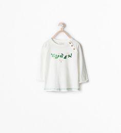 Imagem 1 de T-SHIRT ESTAMPADO FOREST da Zara