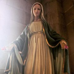 Our Lady hears our cries, comforts us in our sorrows, and places us in the arms of Jesus. (Source: FB)