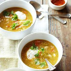 Mexican White Bean Soup