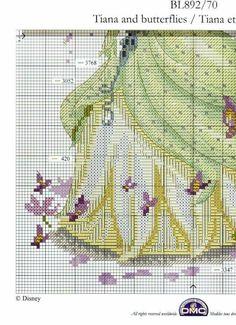 Les 42 meilleures images de broderie la princesse et la grenouille   Broderie, Point de croix et ...