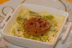 Ravioles du Dauphiné au foie gras - La Cuisine de Jackie Grains, Rice, Chicken, Breakfast, Mars, Table, Warm Kitchen, Greedy People, Meal