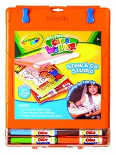 Amazon.com: Crayola Color Wonder Travel Tote (colors & styles may vary): Toys & Games