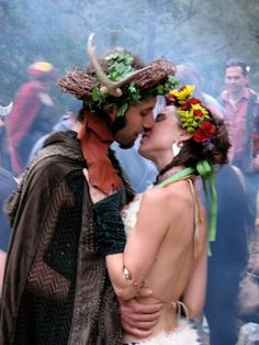 Beltane is an ancient Celtic holiday marking the beginning of the summer season. Related to the May Day holiday, Beltane is celebrated by the lighting of bonfires and adornment of the home with flowers, and twining ribbons around a tree or pole.
