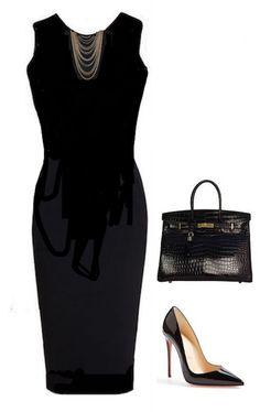 El versátil vestido negro puede transformarse de muchas maneras. 10 looks con tu mismo vestido negro - Mujer Chic Stylish, Polyvore, Outfits, Black, Dresses, Fashion, Blunt Cuts, Short Black Dresses, Black Sundress