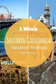 Travel Itinerary: 1 Week Southern California (With Disney) - Peanuts or Pretzels