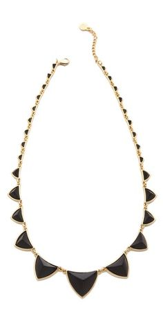 House of Harlow 1960 Pyramid Station Necklace | SHOPBOP