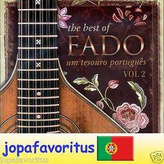 Best of Fado Um Tesouro Português Vol 2 World Heritage Music Portugal Import PT