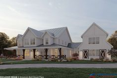 Barn House Plans, Craftsman House Plans, New House Plans, Dream House Plans, Dream Houses, Farm Houses, New Houses, 5 Bedroom House Plans, Modern Barn House
