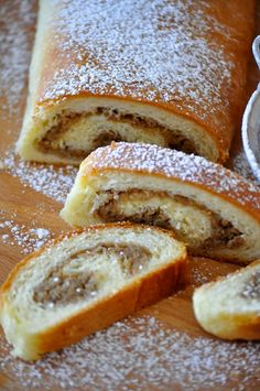 Cooking By Mirjana: Orahnjaca Albanian Recipes, Bosnian Recipes, Croatian Recipes, Baking Recipes, Dessert Recipes, Desserts, Bread Recipes, Croatian Cuisine, Bread Dough Recipe