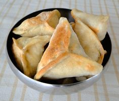 Spinach turnovers - Fatayer
