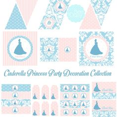 Cinderella Inspired Decorations for Birthday Party by BeeAndDaisy, $13.00