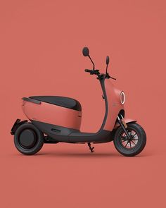 Scooter Design, Bike Design, Electric Car, Electric Scooter, Radios, Mobiles, E Mobility, Concept Motorcycles, Mens Toys