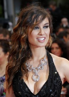 Berenice Marlohe Cannes 2012  @Bunky Bee @Principessa Shawnee  She is gorgeous, but man she does a SF in almost all her pics LOL