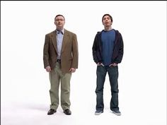 Apple v. Mac ads.  It's 34 minutes- all of the ads, but I just couldn't stop watching.  So funny.