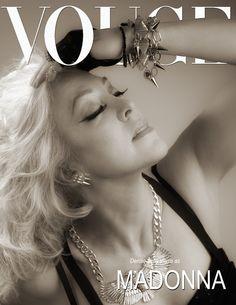 Denise Bella Vlasis as Madonna for Vogue Magazine