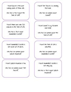 Students will play I Have Who Has fact and opinion. Each statement is about Disney World. Reading Resources, Reading Skills, Teaching Reading, Teaching Tools, Teaching Ideas, Disney Classroom, Future Classroom, School Classroom, Classroom Ideas