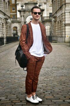 Omiri Thomas | Menswear Style Blogger: London Fashion Week AW14 | Street Style