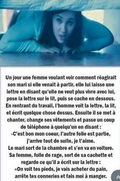 "Un peu sexiste le ""fais moi à manger"" mais bon... Stupid Funny, Funny Jokes, Hilarious, Haha, French Quotes, Just Smile, Funny Facts, Anime Manga, Funny Photos"