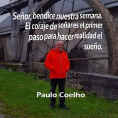 〽️️️️️️️️️️️Paulo Coelho More Than Words, Spanish Quotes, True Words, Baseball Cards, Projects, Paulo Coelho, Dreams, Qoutes Of Life, Positive Quotes