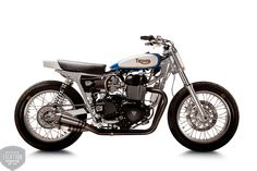 Mule Motorcycles/BC - Triumph Tracker | On Bonnefication