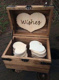 31 Rustic Wedding Card Boxes | HappyWedd.com #PinoftheDay #rustic #wedding #card #boxes #CardBoxes