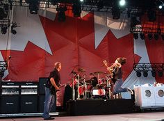 Rush, Downsview Park, Toronto, Canada.