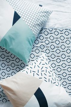 Love the idea, just in a stronger and bolder print and pattern.  Easy DIY