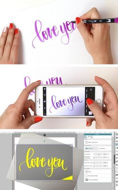 How to Use Any Image with your Silhouette: Silhouette File Types and How to Use Them - Persia Lou how to turn hand writing or a drawing into a cut file silhouette! Step by step tutorial plus video. Plotter Silhouette Cameo, Silhouette Cutter, Silhouette Vinyl, Silhouette Files, Silhouette Machine, Silhouette America, Silhouette Cameo Gifts, Print And Cut Silhouette, Free Silhouette Designs