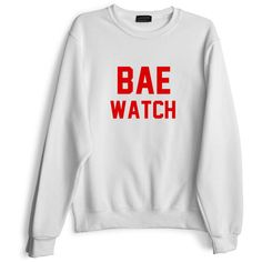 BAE WATCH [SWEATSHIRT] ($79) ❤ liked on Polyvore featuring tops, hoodies, sweatshirts, sweatshirts hoodies, sweat tops and sweat shirts