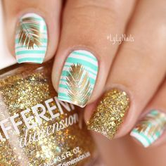 Hot Tropical Nail Designs To Brighten Up Your Summer ?️ - Be Modish Hot Tropical Nail Designs To Brighten Up Your Summer ? Tropical Nail Designs, Cute Summer Nail Designs, Cute Summer Nails, Nail Summer, Tropical Nail Art, Summer Vacation Nails, Summer Holiday Nails, Bright Summer Nails, Summer Design