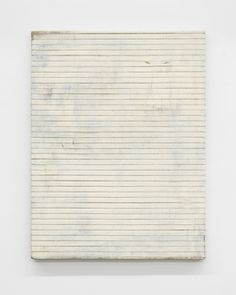 Lawrence Carroll, 'Untitled (cut painting, white),' 2003-2016, Buchmann Galerie
