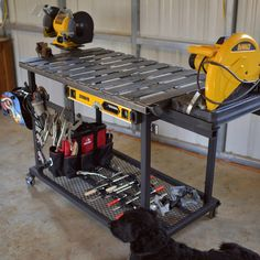 Is it a welding bench, or a giant toolbox on wheels? Its