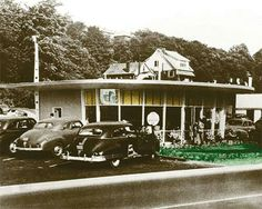 First Eat 'n Park opened on Saw Mill Run Blvd in 1949 by Larry Hatch. - Originally bought to build an Isaly's.  Isaly's changed their plans and Mr. Hatch started Eat N Park.