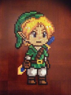 Link perler beads by ChizzyLizzy on deviantART