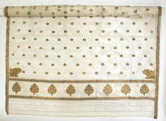 The sari is worn in nearly all regions by all Indian women. There are over 100 ways to wear a sari due to the many different ways you can drape the fabric. Sari's often feature metallic ornate, and bright embroidery. Date: 19th century Culture: Indian Medium: silk