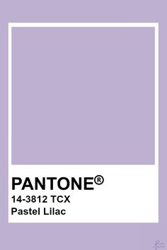 Main color for guest bedroom with accents of Rose Quartz (?), Black, White and M. Main color for g Paleta Pantone, Pantone Tcx, Pantone Swatches, Color Swatches, Lilac Walls, Lavender Walls, Pantone Colour Palettes, Pantone Color, Colour Pallete