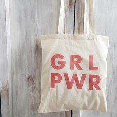Feminist tote bag feminism girls canvas bag cotton bag