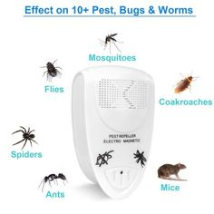 Security & Protection Honest Portable Intelligent Electronic Ultrasonic Mosquito Insect Repellent Pest Reject Insect Killer Adjustable Frequencies Usb Charg