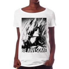 T-Shirt Be Awesome Damen