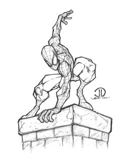 A spidey sketch I did a few nights ago. Spiderman Girl, Spiderman Drawing, Drawing Superheroes, Marvel Drawings, Amazing Spiderman, Avengers Art, Marvel Art, Comic Books Art, Comic Art