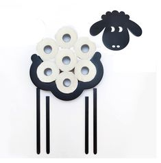 This is a plywood wall toilet paper storage shelf in the shape of a sheep. It will beautifully decorate your bathroom. You will get 2 in beauty and practicality/convenience! Over Toilet Storage, Toilet Shelves, Toilet Paper Storage, Bathroom Shelves, Storage Shelves, Bathroom Ideas, Unique Toilet Paper Holder, Toilet Paper Roll Holder, Wc Decoration