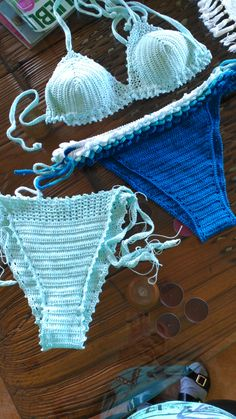 Crochet Bikini, Swimwear, Fashion, Bikinis, Crocheting Patterns, Sweater Vests, So Done, Men, Bathing Suits