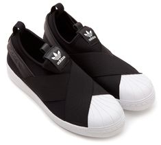 Adidas Superstar Slip On in Black