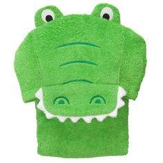 Alligator Hooded Towel