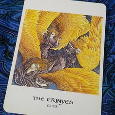 Today's #Intuitive #Oracle card is Crisis the Erin yes  Currently we are in a period of the unknown. It is a time of crisis in that we don't see what we want to see yet. There is a lack of proof or evidence. We need to have patience but instead we have doubt. Everything is moving quickly, and with the passing of the year there is a sense of panic about the use of our time for the rest of the year.