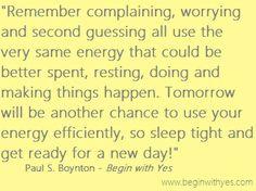 -Paul S. Boynton, author of #BeginWithYes www.facebook.com/beginwithyes #quotes