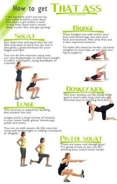 Glutes workout. Seriously working on this right now.
