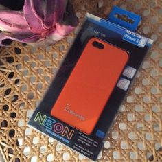 Orange Neon case for iPhone 🌸 Orange neon protective Case for iPhone 🌸 Absorbs shock from jarring impact. I will be happy to answer any questions😊 Lifeworks Accessories Phone Cases