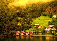 Misty, Flam, Norway photo via aysin